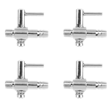 4 mm Stainless Steel Air Taps