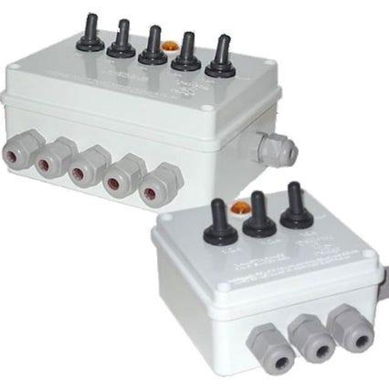 5 Way Multi Switch Box
