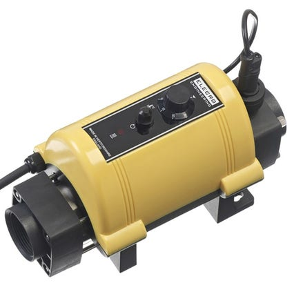 Elecro Nano Koi Pond Heater Incoloy 825 3 kw (Yellow Enclosure)