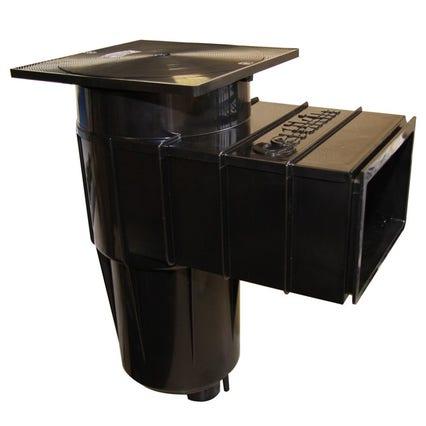 Certikin Skimmer Concrete or Liner Ponds in Black (Collar Weir Type)