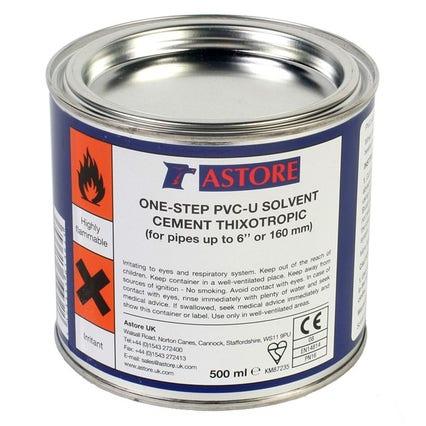 Astore One Step Pvc U Cement - 500 ml
