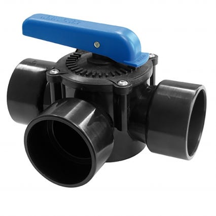 X-Clear 63mm/2 inch 3 way valve