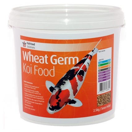 Fish Food Solutions Wheat Germ