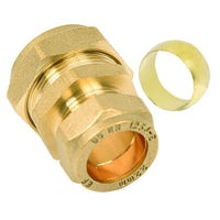 Heat Exchange Connector 1 inch Female Thread 22 mm pipe