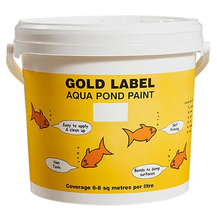 Gold Label Aqua Pond Paint