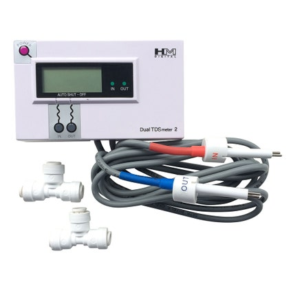 Commercial Inline Dual TDS Monitor