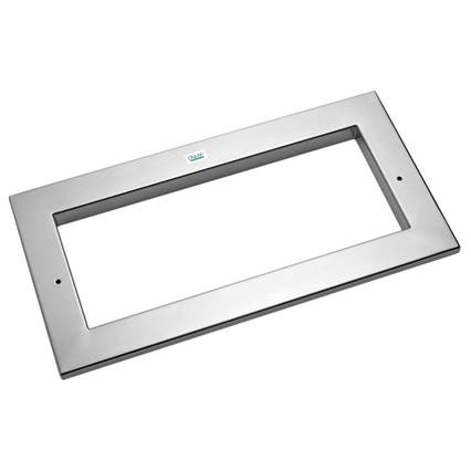 Oase ProfiSkim Wall 100 Wide Mouth Stainless Steel Faceplate
