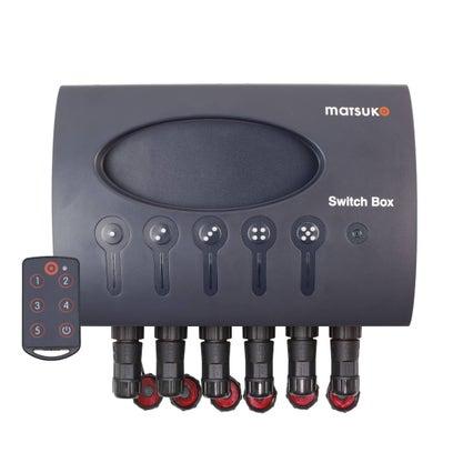 Matsuko  Switch Box + Remote Quick Connection