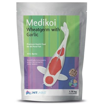 NT Labs MediKoi Wheatgerm with Garlic Koi Food